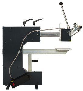 a reconditioned hot foil press