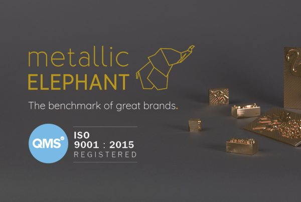 Metallic Elephant achieves ISO 9001